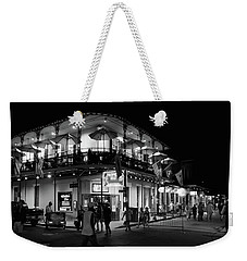 Tropical Isle Bourbon In Black And White Weekender Tote Bag