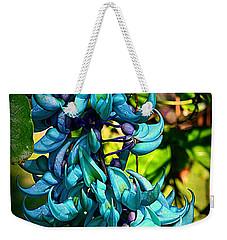 Tropical Jade Weekender Tote Bag
