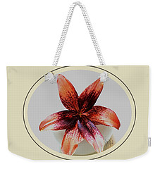 Tropical Lily Weekender Tote Bag