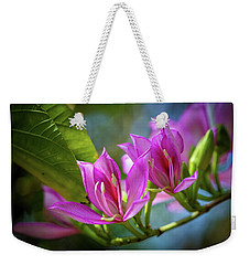 Tropical Line Dance Weekender Tote Bag