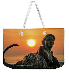 Tropical Mermaid Weekender Tote Bag