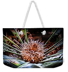 Weekender Tote Bag featuring the photograph Tropical Moments by Karen Wiles