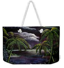 Tropical Moonlight Weekender Tote Bag