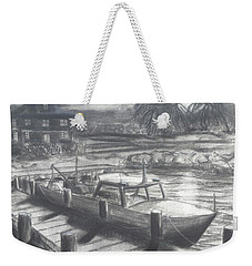 Tropical Moonrise Weekender Tote Bag
