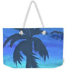 Tropical Night Weekender Tote Bag