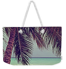 Tropical Ocean View Weekender Tote Bag