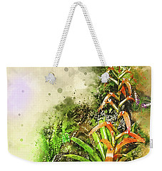 Tropical Orange Weekender Tote Bag
