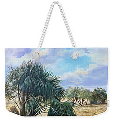 Tropical Orange Grove Weekender Tote Bag