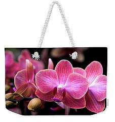 Tropical Orchids Weekender Tote Bag