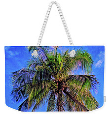 Tropical Palms Weekender Tote Bag by Sue Melvin
