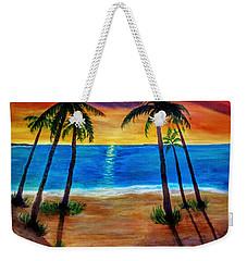 Tropical Paradise Weekender Tote Bag