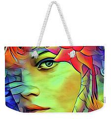 Tropical Paradise Weekender Tote Bag by Kathy Kelly