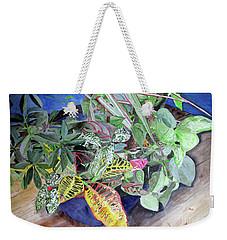 Tropical Plants Weekender Tote Bag