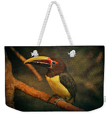 Tropical Rainforest Toucan  Weekender Tote Bag