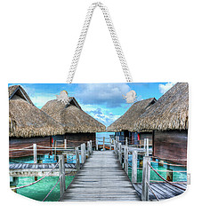 Tropical Resort Paradise Seascape Florida Keys 01 Weekender Tote Bag
