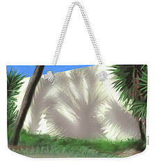 Tropical Shadows Weekender Tote Bag