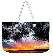 Tropical Sunset  Weekender Tote Bag by Parker Cunningham