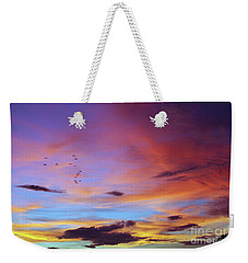 Tropical North Queensland Sunset Splendor  Weekender Tote Bag