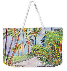 Tropical Waimea Cottage Weekender Tote Bag by Marionette Taboniar