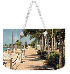 Tropical Walkway Weekender Tote Bag