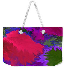Weekender Tote Bag featuring the photograph Tropicana by Patricia Griffin Brett