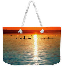 Tropicana Swimming Weekender Tote Bag
