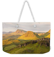 Trotternish Summer Panorama Weekender Tote Bag