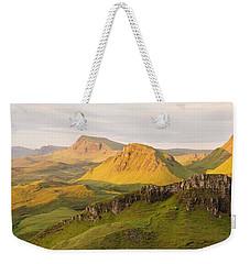 Trotternish Summer Panorama Weekender Tote Bag