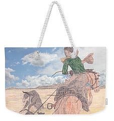 Trouble In Bunches Classic Weekender Tote Bag