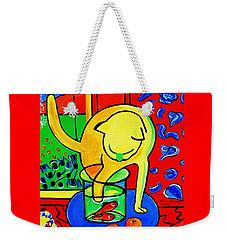 Trouble Weekender Tote Bag by Nora Shepley