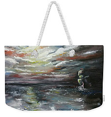 Troubled Waters Complete Weekender Tote Bag