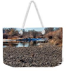 Trout Stream Weekender Tote Bag