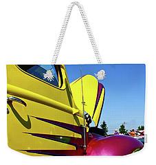 Truck Art Weekender Tote Bag by Linda Bianic