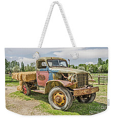 Weekender Tote Bag featuring the photograph Truck Of Many Colors by Sue Smith