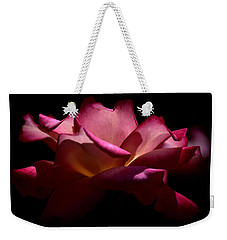 Weekender Tote Bag featuring the photograph True Beauty by Lori Seaman