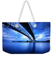 True Blue View Weekender Tote Bag