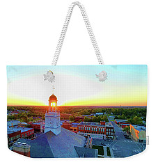 Truman Clock Tower Weekender Tote Bag
