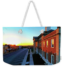 Truman Courthouse  Weekender Tote Bag by Dave Luebbert