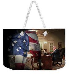 Trump And Comey Weekender Tote Bag