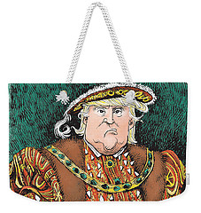 Trump As King Henry Viii Weekender Tote Bag