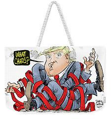 Trump Chaos Weekender Tote Bag