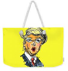 Trump Weekender Tote Bag by Robert Yaeger