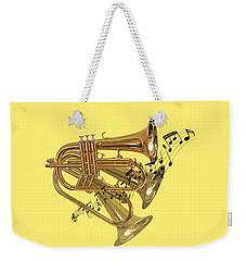 Trumpet Fanfare Weekender Tote Bag