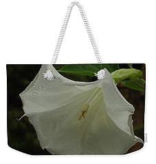 Trumpet In The Rain Weekender Tote Bag