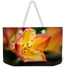 Trumpet Of Spring Weekender Tote Bag