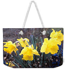 Trumpets Of Spring Weekender Tote Bag by Steve Karol