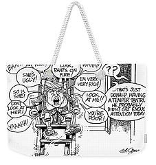 Trumptempertantrum Weekender Tote Bag