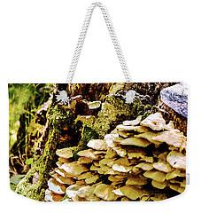 Trunk And Mushrooms Weekender Tote Bag