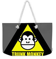 Trunk Monkey Weekender Tote Bag
