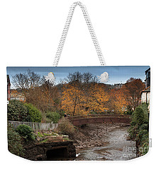 Weekender Tote Bag featuring the photograph Truro River by Brian Roscorla